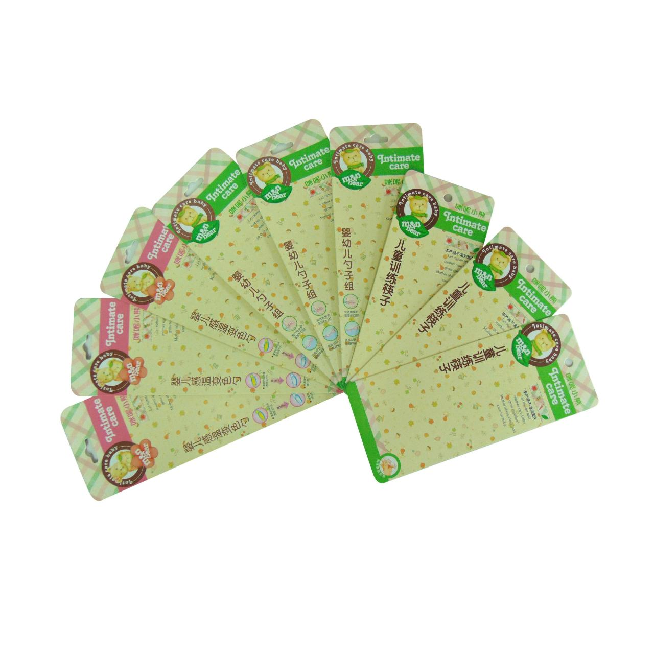 Buy cheap Blister packaging back card WX-B1007 from wholesalers