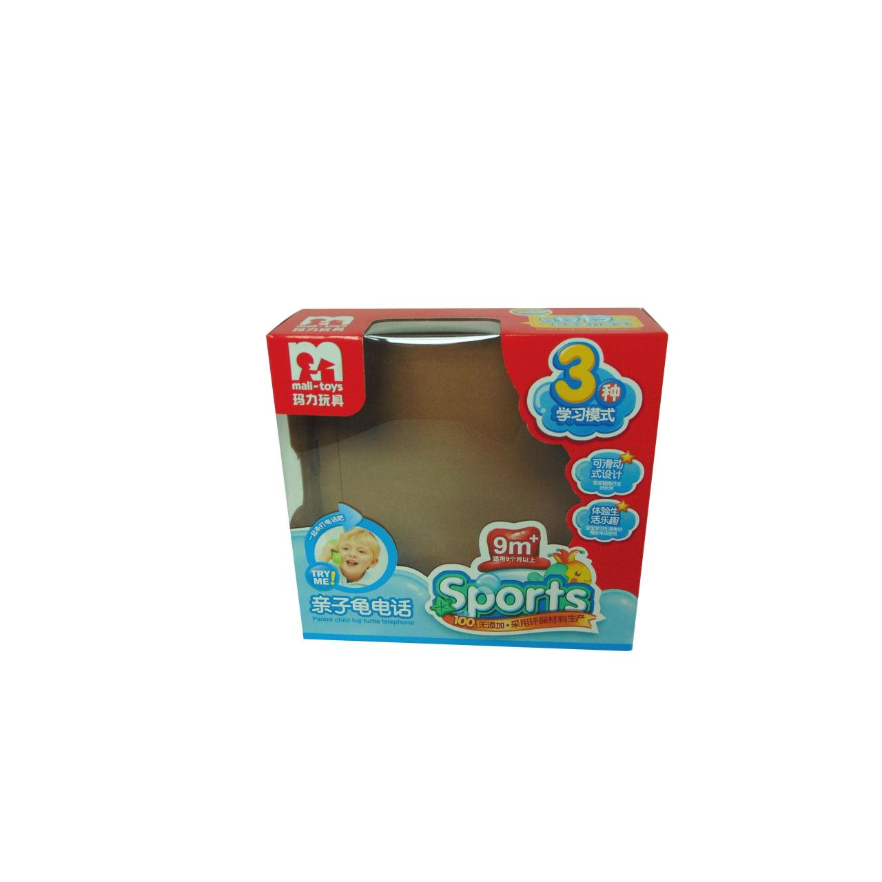 Buy cheap Gift box with PVC window WX-W2006 from wholesalers