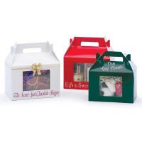 Buy cheap Gift box with PVC window WX-W2004 from wholesalers
