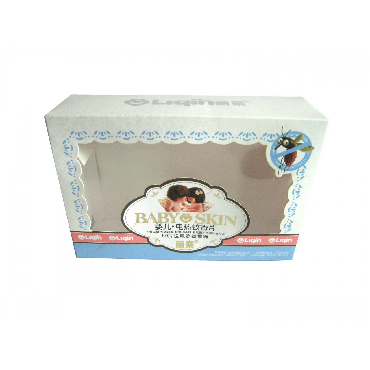 Buy cheap Gift box with PVC window WX-W2008 from wholesalers