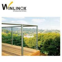 Buy cheap Inox Wire Rope Balustrade Stainless Steel Wire Railing Fencing from wholesalers