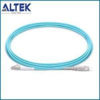China 2.0mm LC UPC To SC UPC Simplex Or Duplex 2.0mm PVC Or LSZH 10G OM3 Multimode Fiber Optic Jumpers on sale