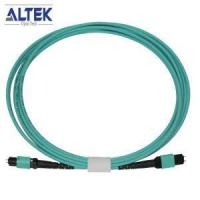 Best 100G 24F Array Fiber Optic MPO PC To MPO PC Connectors Multimode OM3 Trunk Patch Cable Terminate wholesale