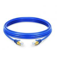 5ft Category Cat7 Shielded SSTP Ethernet Network PVC Blue Patch Cable