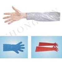Quality PE Long cuff Glove for sale