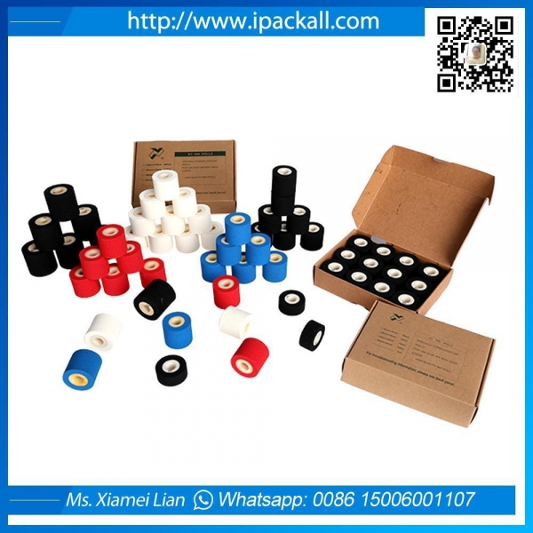 Buy Hot Soild Red White Black Blue Ink Roll at wholesale prices