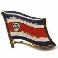 Quality Costa Rica Flag Pins for sale