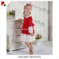 Quality boutique wolf remake red lace medium dress for sale
