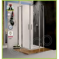 China Shower Enclosures CICCO New Fashion Tempered Glass Shower Door Plastic Seal Strip on sale