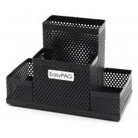 China EasyPAG Mesh Desk Accessories Organizer Office Supplies Pen Holder on sale