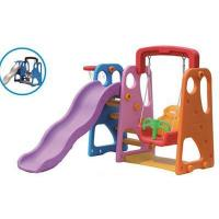Quality Kids Plastic Slide and Swing Play Sets for Home for sale