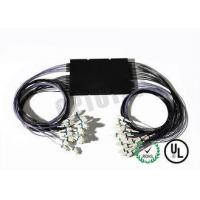 China 1 x 2 50 DB Multimode Fiber Coupler OM 1 Intergrated Box 1310 nm LC / UPC Connector on sale