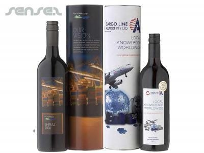Buy Promotional Custom Printed Wine & Cylinder Gift Sets at wholesale prices