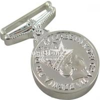 Buy cheap Classy 3D Custom Metal Medal Without Coloring for Army from wholesalers
