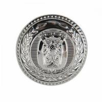 Buy cheap 3D Design Round Shape Button With Border from wholesalers