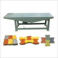 Quality Vibrating Table Rubber Mould Paver for sale