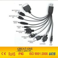 Best 10 in 1 all in one usb data cables with 10 connectors for all world's mobile phone wholesale