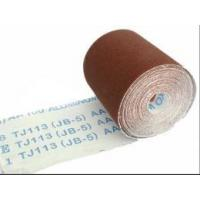 Buy cheap Flexible Coated Aluminum Oxide Abrasive Cloth Roll (JB-5, TJ113) from wholesalers