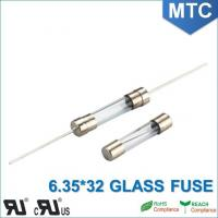 MTC 6.0*30mm 6.35X32mm 0.1~30A Time-Lag Glass Fuse