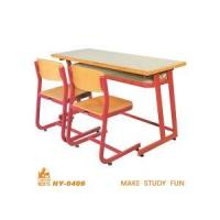 Double Classroom Desk and Chair