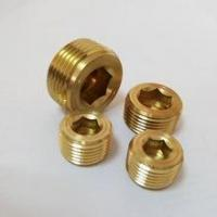 Quality Cooling Series Male threaded pressure plug brass NPT/PT thread for sale
