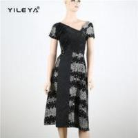 Buy cheap Dress elegant open back style evening ladies dress cutting from wholesalers