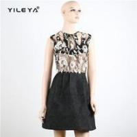 Buy cheap Dress luxury sleeveless hollow out princess dress with black skirt from wholesalers