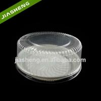 Quality White Round Shape Disposable Plastic Trays/Plates for Party & Wedding for sale