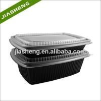 Quality High Quality Black Plastic Blister Bento Box Wholesale for sale