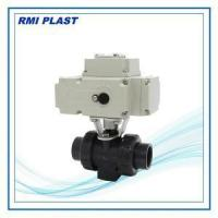 China Ball Valve Model PV136: Electric Actuated Ball Valve on sale