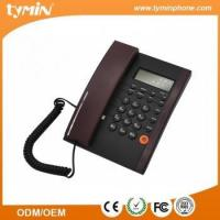 China Hands-free Landline Corded Desktop Phone with Caller ID (TM-PA125) on sale