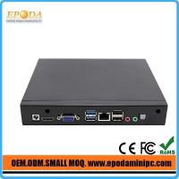 Best EM19 High quality Baytrail quad core J1900 cheap price embedded industrial pc wholesale