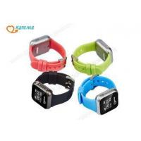 Buy cheap Personal Child Wrist GPS Tracking Device Watch Free Software APP Web Platform from wholesalers