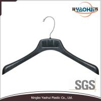 Quality 6626A metal hook plastic hanger plastic clothes hanger plastic ... for sale