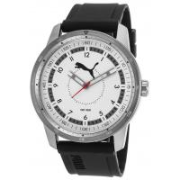 Quality Men's Watches Men's Black Rubber White Dial for sale