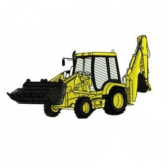 China Heavy Equipment Embroidery Designs