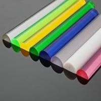 Quality Plexiglass crafts rod,PMMA crafts rod for sale