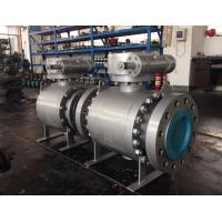 Quality forged trunnion ball valve for sale