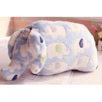China Cheap Baby Blanket Toy Soft Baby Fleece Blanket With Plush Elephant Toy on sale