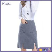 Grey Skirts Women, New Office Skirts and Blouses for Women, Spring Design Skirts and blouses