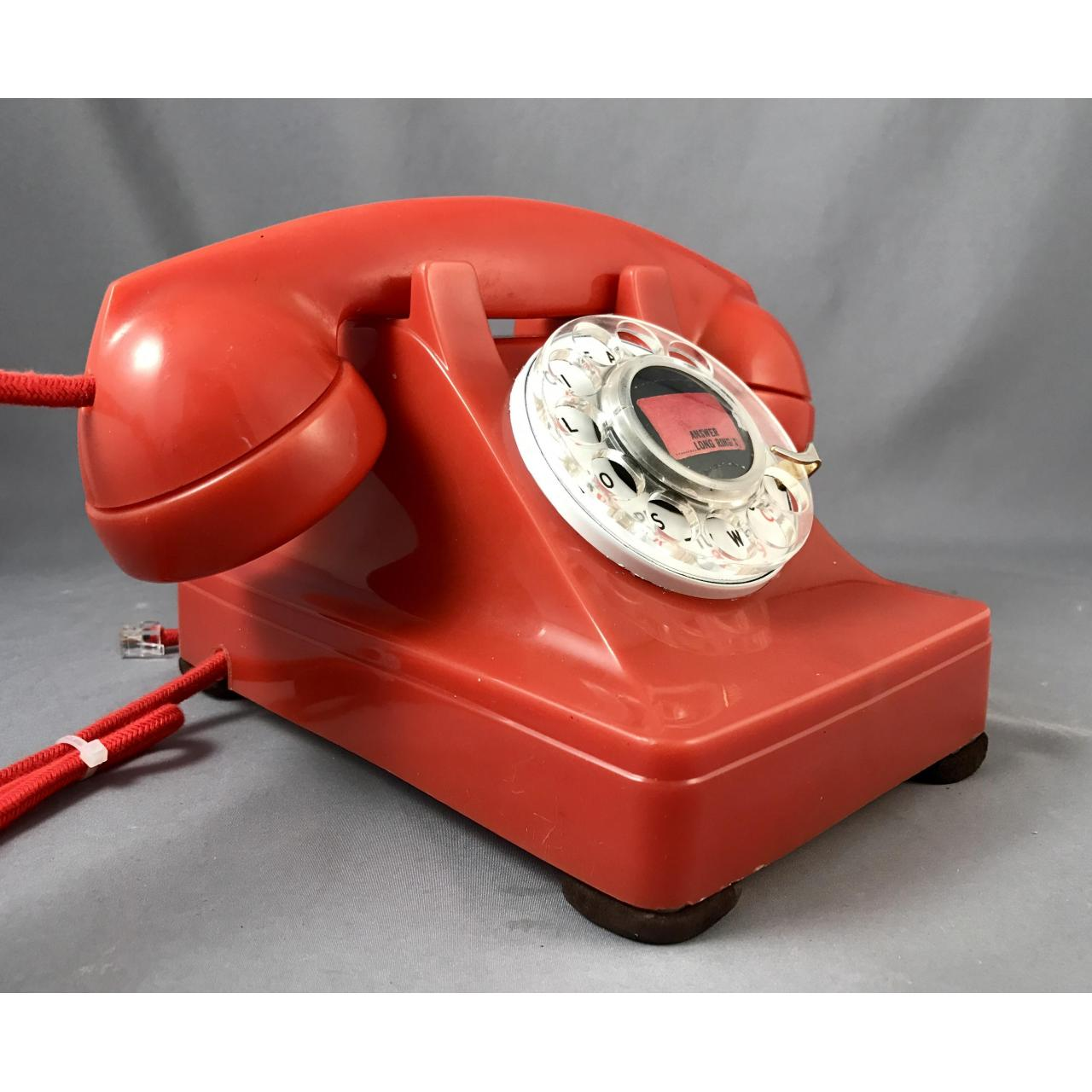 302 - Red - Fully Refurbished Antique Phones