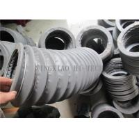 Quality Grey Fabric Expansion Joint Bellows , Flexible Expansion Joint Material for sale