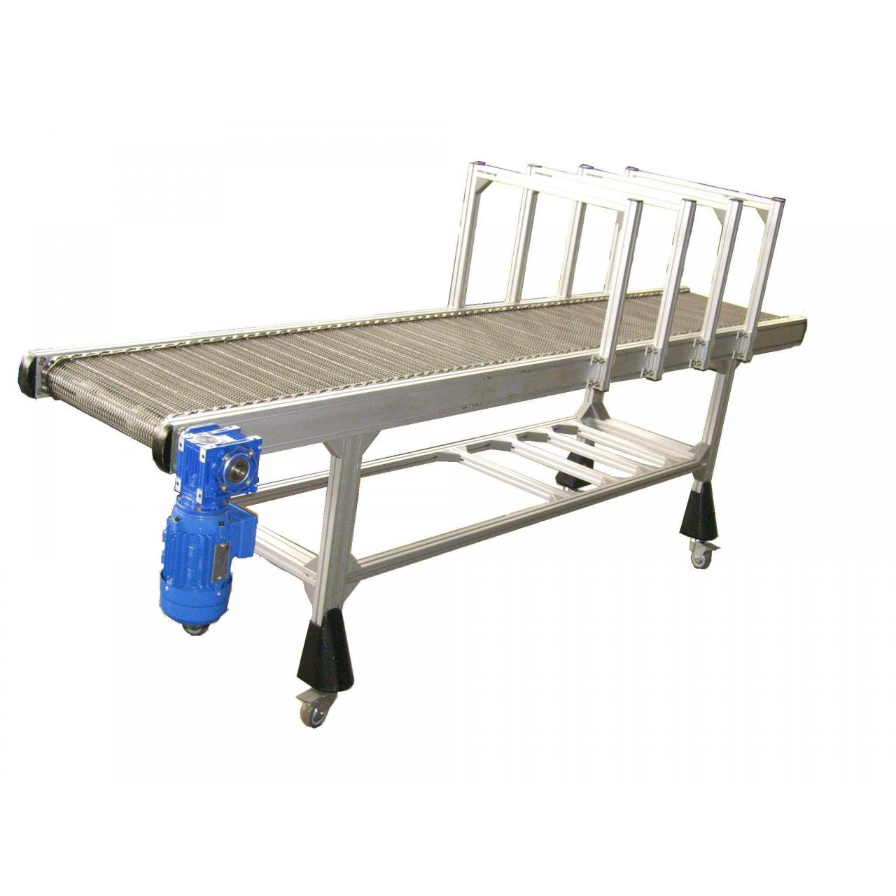 Buy cheap Aluminum Extrusion Stainless Steel Net Automatic Conveyor Machine System from wholesalers