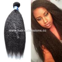 China Online Sale Human Hair Extensions Brazilian Kinky Straight Hair Weave on sale