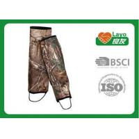 Quality Camouflage Waterproof Leg Gaiters For Hiking Walking Climbing for sale