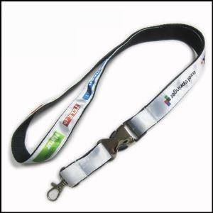 Buy Heat-transferred Satin Lanyard for Adverting Gift at wholesale prices
