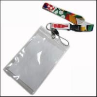 Quality Big PVC ID Card Holder Polyester Lanyard Production from Zhanhong for sale