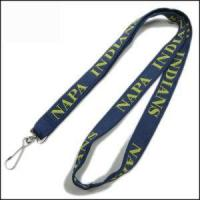 Quality Double Thick Popular Woven Logo Neck Strap for sale