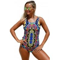 Quality Moroccan Dreams Tribal Print One Piece Swimsuit LC410230 for sale