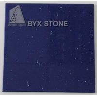 Quality Blue Quartz Counter Slabs for Bathroom Worktop Kitchen Countertops for sale